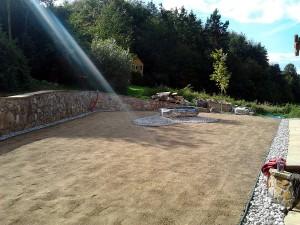Zahrada kolem srubu W-GARDEN-Realizace zahrad0032