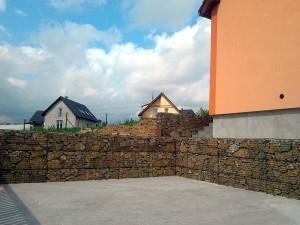 Gabionová zeď W-GARDEN-Realizace zahrad0006
