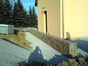 Gabionová zeď W-GARDEN-Realizace zahrad0010