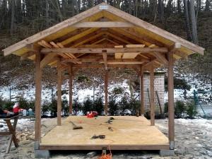Zahradní domek, parkovací stání překrásná zahrada-W-GARDEN-Realizace zahrad0005