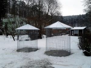 Zahradní domek, parkovací stání překrásná zahrada-W-GARDEN-Realizace zahrad0025