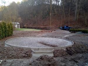 Zahradní domek, parkovací stání překrásná zahrada-W-GARDEN-Realizace zahrad0049