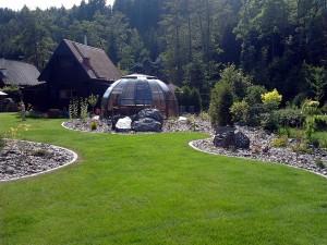 Zahradní domek, parkovací stání překrásná zahrada-W-GARDEN-Realizace zahrad0076
