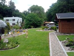 Zahradní domek, parkovací stání překrásná zahrada-W-GARDEN-Realizace zahrad0079