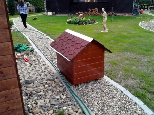 Zahradní domek, parkovací stání překrásná zahrada-W-GARDEN-Realizace zahrad0081