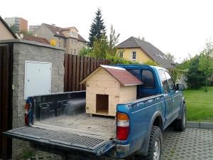 Zahradní domek, parkovací stání překrásná zahrada-W-GARDEN-Realizace zahrad0084