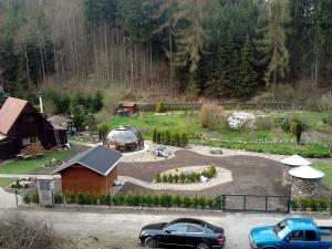 Zahradní domek, parkovací stání překrásná zahrada-W-GARDEN-Realizace zahrad0094