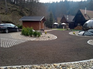 Zahradní domek, parkovací stání překrásná zahrada-W-GARDEN-Realizace zahrad0095