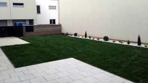 Výsadba okrasných dřevin a travního koberce-W-GARDEN-Realizace zahrad0017